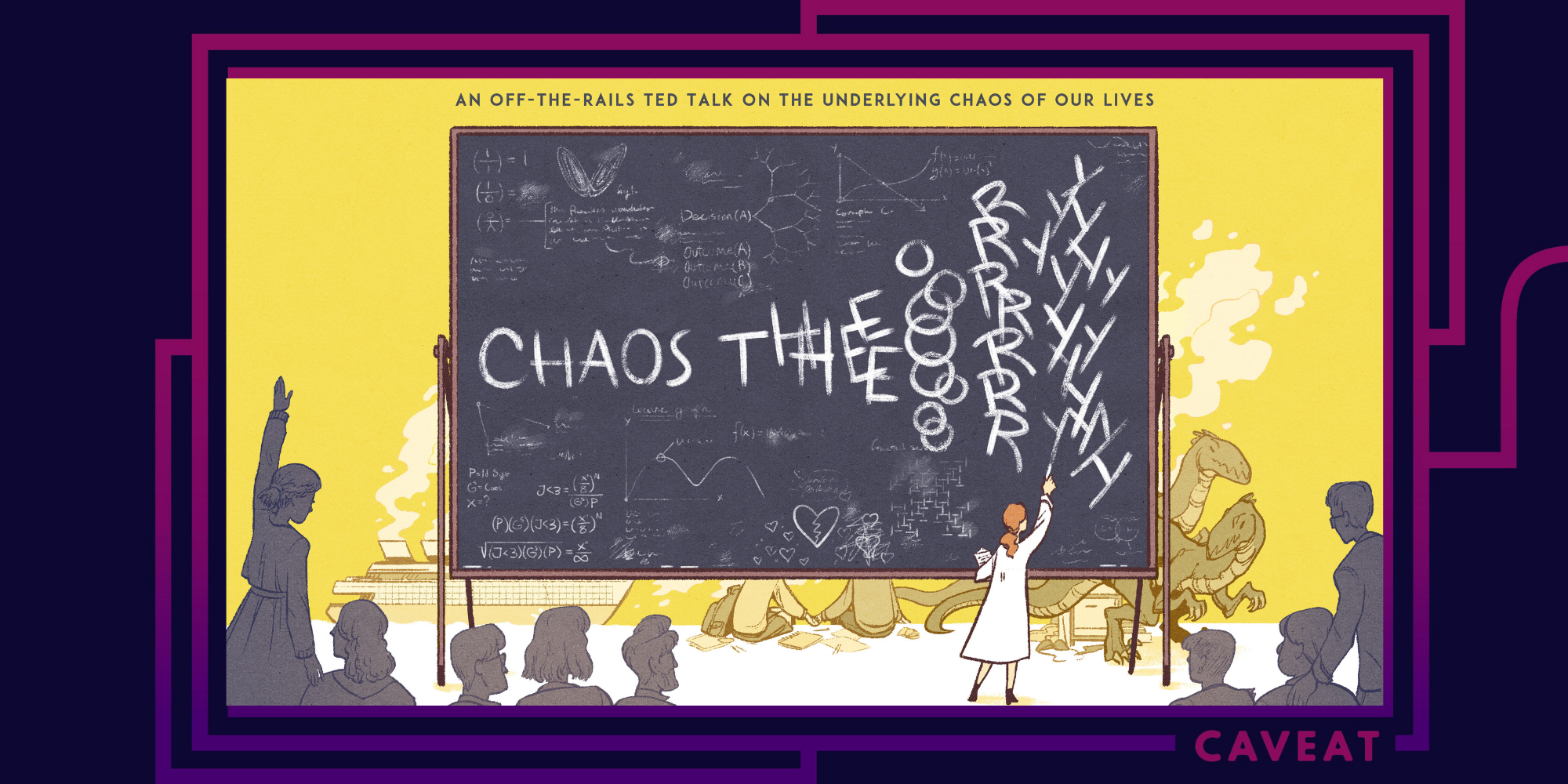 1909 image - Chaos Theory: an off-the-rails TED Talk on the underlying chaos of our lives